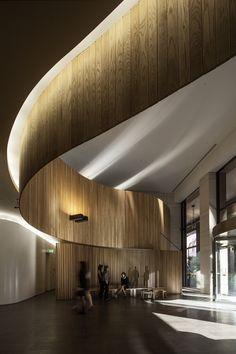 GE Money Lobby, Sydney/ Architects - Woods Bagot / Lighting Design - Light Practice