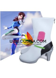 Item Detail Overwatch DVA Cosplay Shoes Includes - Shoes All shoes are custom, made to order. Please see Size Tab for required measurements as well as fitting options. Please see individual tabs for i