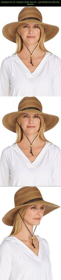 Coolibar UPF 50+ Women's Tempe Sun Hat - Sun Protective (One Size- Brown) #camera #drone #gadgets #shopping #gardening #tech #plans #racing #fpv #kit #technology #parts #visor #products