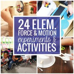 Get teaching with these force and motion experiments, activities and videos to use in the elementary classroom. This collection of  force and motion activities and resources should help you cover the topics like texture, gravity, incline and simple machines. If you're looking for helpful ideas and lesson plans – then this is the place to start! Do you need a refresher …