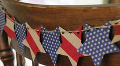 Patriotic Banner, Patriotic & 4th of July Crafts