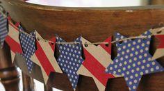 Patriotic Banner, Patriotic & 4th of July Crafts