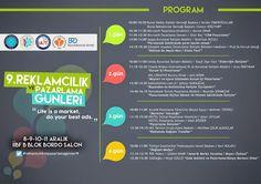 Uludağ Üniversitesi, İşletme Topluluğu (ULİT) tarafından, bu yıl 9.'su düzenlenecek olan Reklamcılık ve Pazarlama Günleri etkinliğine katılarak, sektörün liderleri ile buluşabilirsiniz. Detaylar yazımızda; http://www.hadigenc.com/2014/12/9-reklamclk-ve-pazarlama-gunleri-baslyor.html #is #kariyer #egitim #pazarlama #marketing #reklam #ad