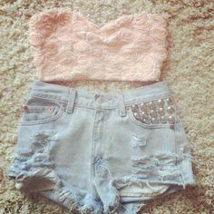 short jeans e cropped - Pesquisa Google