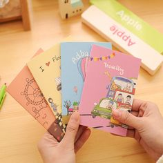 1PCS Dog illustration A6 Notebook Diary Book Exercise Composition Notepad Escolar Papelaria Gift Stationery