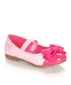 Take a look at this Jelly Beans Pink Epub Flat by Jelly Beans on #zulily today!