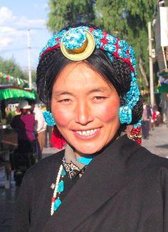 A beautiful face indeed - Tibet
