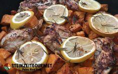 Zitronen-Rosmarin-Hühnchen