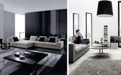 #Salon monocromático #Salones  #Living_room