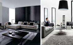 #Salon monocromático #Salones  #Living_room