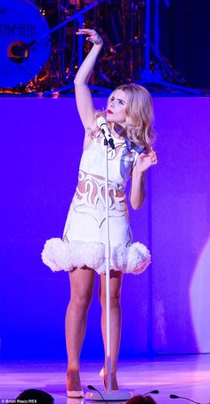 Back on form: Paloma recently missed her Manchester shows after being admitted to hospital...