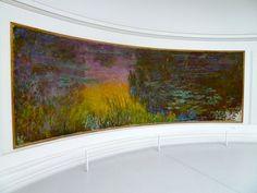 Claude Monet, The Setting Sun, Grandes,Decorations, Musee de l'Orangerie, Paris