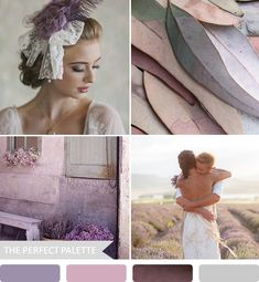 The Perfect Palette~ Moody shades of purple & gray with a sutble antique feel. Perfect for Late Fall/Early Winter