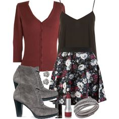 """Lydia Inspired Outfit with Requested Boots"" by veterization on Polyvore"