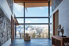 Tour Architect Peter Marino's Rocky Mountain Ski Retreat Photos | Architectural Digest