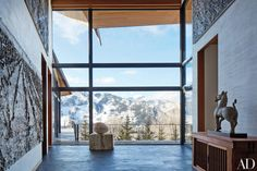 Tour Architect Peter Marino's Rocky Mountain Ski Retreat Photos | Architectural Digest