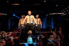 Picture: Adam Rodriguez, Channing Tatum and Matt Bomer, all shirtless, in 'Magic Mike.' Pic is in a photo gallery for Channing Tatum featuring 94 pictures. Magic Mike Channing Tatum, Adam Rodriguez, Matt Bomer, Magic Mike Costume, Magic Mike Live, Film Facts, Constantin Film, Las Vegas, Kevin Nash