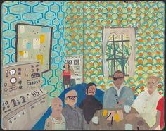 Nicholas Stevenson: www.folioart.co.uk/illustration/folio/artists/illustrator/nicholas-stevenson - Agency: www.folioart.co.uk - #illustration #art #painterly #scene