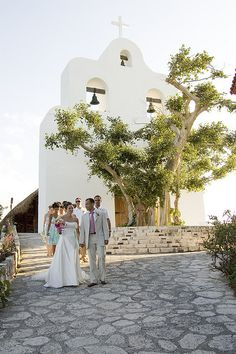 Outside Front View of Chapel at Xcaret Park by Mexican Wedding Pics, via Flickr
