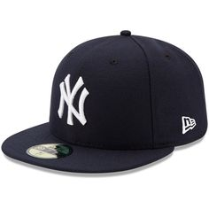 Youth New Era Navy New York Yankees Authentic Collection On-Field Game Fitted Hat, Size: 6 Blue New York Yankees Apparel, Yankees Merchandise, Yankees Outfit, Bernie Williams, Mlb, Yankees News, Ny Yankees, Logo New, New Era Fitted