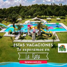 ¿Todos listos para pasarla genial? 👍 #VenALaRana #ParqueAcuático