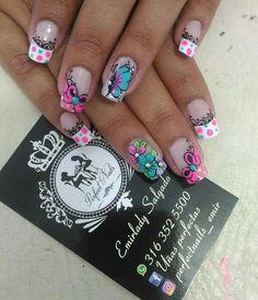 French Tip Nails, My Nails, Nail Designs, Nail Art, Beauty, Mandala, Ideas, Art Nails, Indian Nails