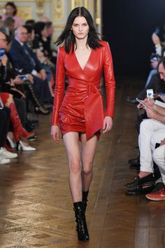 Redemption Fall 2017 Ready-to-Wear Collection Photos - Vogue Style Couture, Couture Mode, Haute Couture Dresses, Couture Fashion, Catwalk Fashion, Fashion Week, Leather Dresses, Fashion Show Collection, Latex