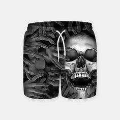 Hell Reclaims It's Own Swim Shorts, Live Heroes