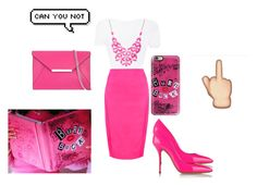 """""""MyMean girls look set"""" by fashioninlodon ❤ liked on Polyvore featuring beauty, Casetify, Casadei, MICHAEL Michael Kors and Alexa Starr"""