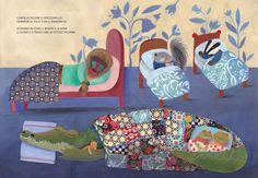 Topipittori, Il grande libro dei pisolini, scritto da Giovanna Zoboli e illustrato da Simona Mulazzani
