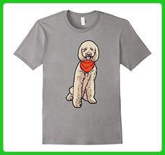Mens Goldendoodle Dog T-Shirt 2XL Slate - Animal shirts (*Amazon Partner-Link)