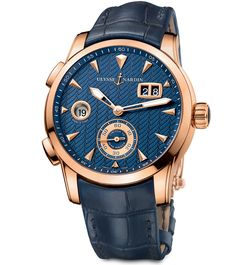 Ulysse Nardin – Dual Time Manufacture   Watchmundi