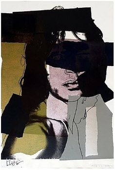 Andy Warhol: Mick Jagger [ ArtOfGolf.com ] #collection #art #golf