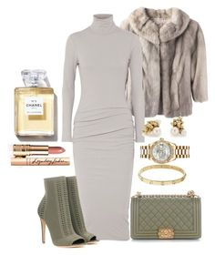 """""""Untitled #974"""" by soosoali ❤ liked on Polyvore featuring James Perse, Gianvito Rossi, Chanel, Cartier, Rolex, Ruth Tomlinson and Charlotte Tilbury"""