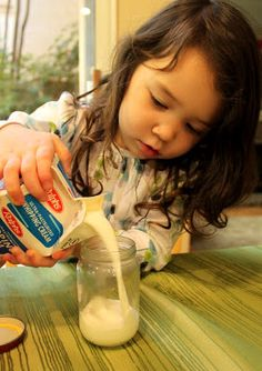Juggling With Kids: Homemade Butter