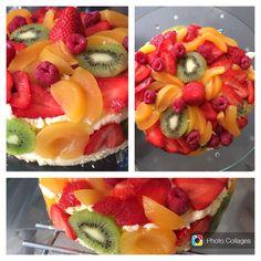 Entremet tutti frutti