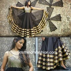 Stunning Floor Length Anarkali's by Anitha Reddy Celebrity Sarees, Designer Sarees, Bridal Sarees, Latest Blouse Designs 2014 South India Fashion