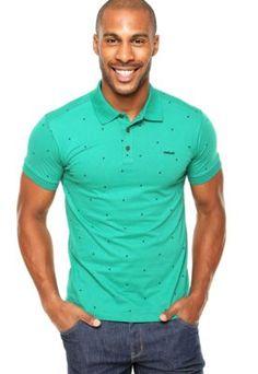 Camisa Polo Colcci Poá Verde Vestidos Compridos, Ombro, Black Friday,  Vestidos Maxi, 82d55d4a1b