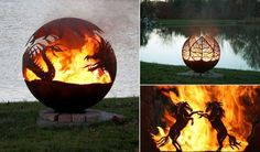 Amazing Metal Fire Pit Designs
