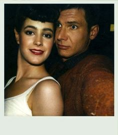 goofy polaroid from the set of Bladerunner.