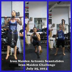 The Iron Maiden Challenge - Iron Body Studios