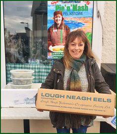 Sally Janes of Felixstowe exporter of Jellied Eels