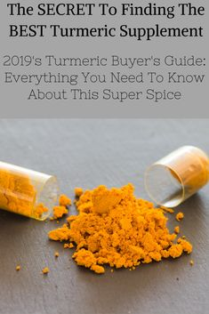Turmeric can be a life changing spice if you know what to look for. One specific type of turmeric is over more beneficial to your health. Here's how you can spot the difference. Best Turmeric Supplement, Turmeric Health Benefits, Turmeric Curcumin, Buyers Guide, Medicinal Herbs, Bible Scriptures, Life Changing, Natural Healing, Arthritis