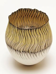 Featured Design: Cheryl Malone Cheryl Malone Foliated Vessel IX, capetowncreativescoza click the image for more details. Ceramic Clay, Ceramic Bowls, Ceramic Pottery, Pottery Art, Pottery Designs, Porcelain Ceramics, Pottery Ideas, Earthenware, Stoneware