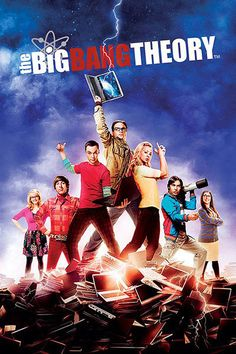 Póster The Big Bang Theory, portada