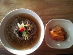메밀국수 Memil Guksu buckwheat noodles