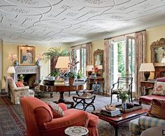 A Tudor for California : AD, Interior Design Michael Smith