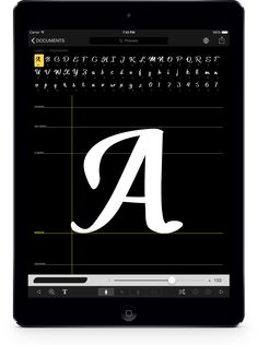 Incredible App – just the right thing for typography nerds like me!