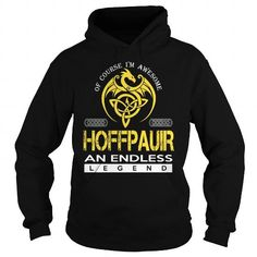 Awesome Tee HOFFPAUIR An Endless Legend (Dragon) - Last Name, Surname T-Shirt T-Shirts
