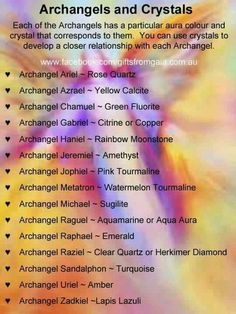 Archangels & Crystals